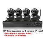 kit supraveghere camere IP