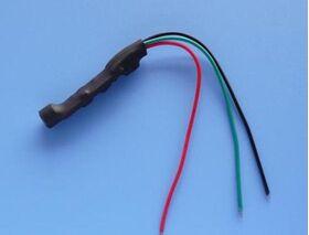 Microfon CCTV pe fir cu amplificare