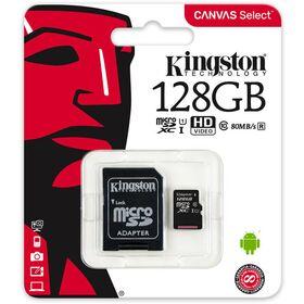 Card memorie Kingston MicroSDXC 64GB Class 10 (Adaptor SD) SDCS/128GB