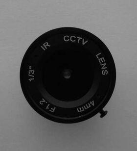 Lentila IR CCTV 4mm