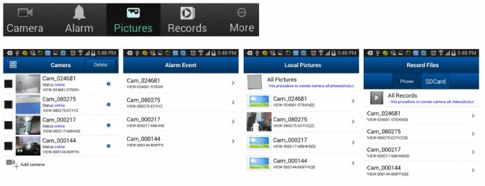 WANSVIEW NCM790GB, Camera IP 720P, Wireless, Pan/Tilt, SD Card, P2P, model  de exterior